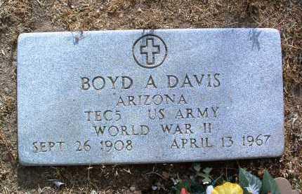 DAVIS, BOYD ANSEL - Yavapai County, Arizona | BOYD ANSEL DAVIS - Arizona Gravestone Photos
