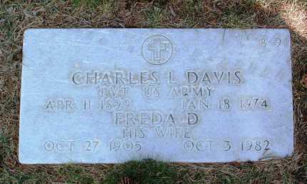 DAVIS, FREDA D. - Yavapai County, Arizona | FREDA D. DAVIS - Arizona Gravestone Photos