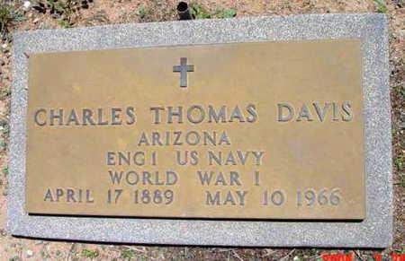 DAVIS, CHARLES THOMAS - Yavapai County, Arizona | CHARLES THOMAS DAVIS - Arizona Gravestone Photos
