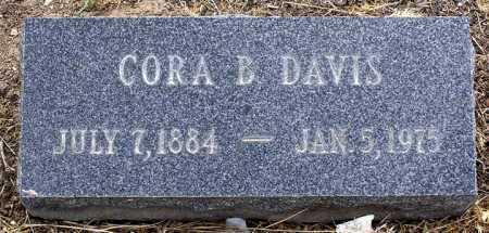 DAVIS, CORA B. - Yavapai County, Arizona | CORA B. DAVIS - Arizona Gravestone Photos