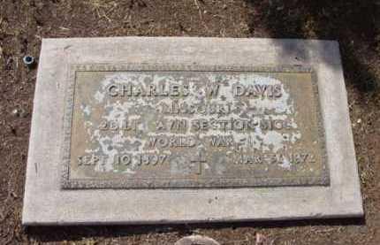 DAVIS, CHARLES W. - Yavapai County, Arizona | CHARLES W. DAVIS - Arizona Gravestone Photos