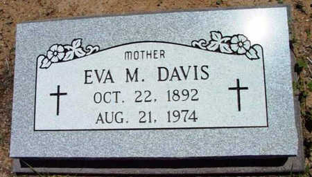 DAVIS, EVA M. - Yavapai County, Arizona | EVA M. DAVIS - Arizona Gravestone Photos