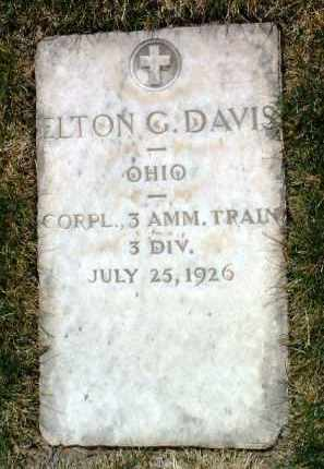 DAVIS, ELTON GAIL - Yavapai County, Arizona | ELTON GAIL DAVIS - Arizona Gravestone Photos