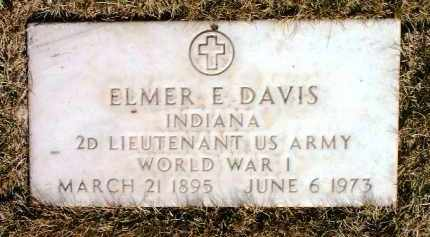 DAVIS, ELMER E. - Yavapai County, Arizona | ELMER E. DAVIS - Arizona Gravestone Photos