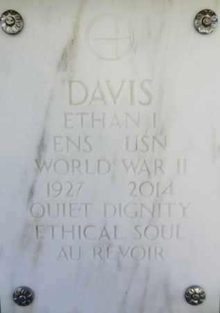 DAVIS, ETHAN IDE - Yavapai County, Arizona | ETHAN IDE DAVIS - Arizona Gravestone Photos