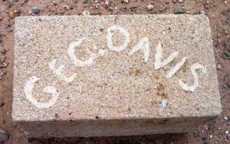 DAVIS, GEORGE - Yavapai County, Arizona | GEORGE DAVIS - Arizona Gravestone Photos