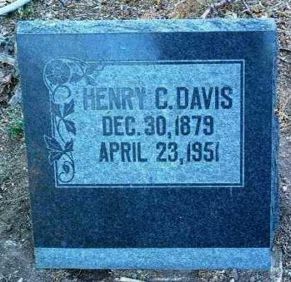 DAVIS, HENRY CLAY - Yavapai County, Arizona | HENRY CLAY DAVIS - Arizona Gravestone Photos