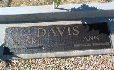 DAVIS, HANK - Yavapai County, Arizona   HANK DAVIS - Arizona Gravestone Photos