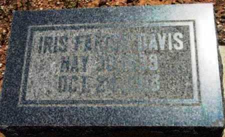 DAVIS, IRIS FERN - Yavapai County, Arizona   IRIS FERN DAVIS - Arizona Gravestone Photos