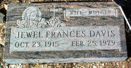 DAVIS, JEWELL FRANCES - Yavapai County, Arizona | JEWELL FRANCES DAVIS - Arizona Gravestone Photos