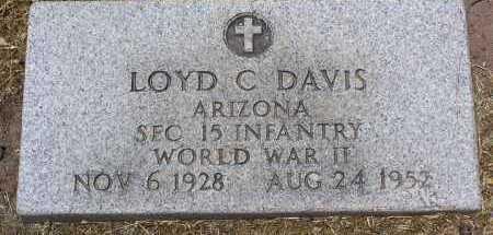 DAVIS, LOYD CARL - Yavapai County, Arizona | LOYD CARL DAVIS - Arizona Gravestone Photos