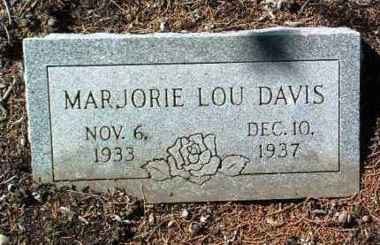 DAVIS, MARJORIE LOU - Yavapai County, Arizona | MARJORIE LOU DAVIS - Arizona Gravestone Photos