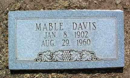 GRIGGY DAVIS, MABEL - Yavapai County, Arizona | MABEL GRIGGY DAVIS - Arizona Gravestone Photos