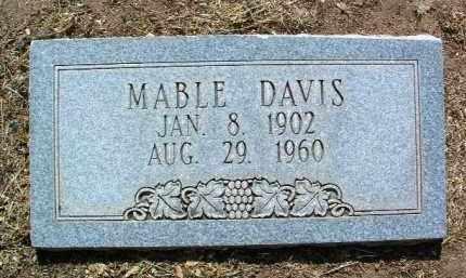DAVIS, MABEL - Yavapai County, Arizona | MABEL DAVIS - Arizona Gravestone Photos
