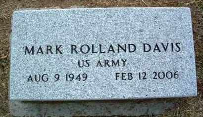 DAVIS, MARK ROLLAND - Yavapai County, Arizona | MARK ROLLAND DAVIS - Arizona Gravestone Photos