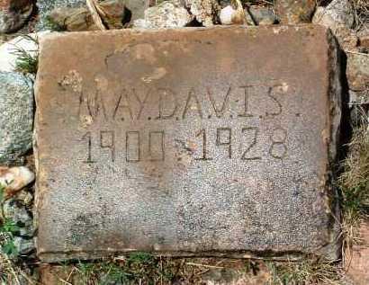 DAVIS, MAY - Yavapai County, Arizona | MAY DAVIS - Arizona Gravestone Photos