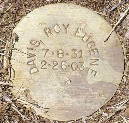 DAVIS, ROY EUGENE - Yavapai County, Arizona | ROY EUGENE DAVIS - Arizona Gravestone Photos