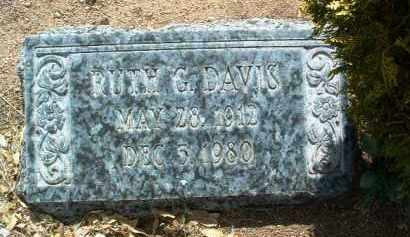 DAVIS, RUTH VIRGINIA - Yavapai County, Arizona | RUTH VIRGINIA DAVIS - Arizona Gravestone Photos