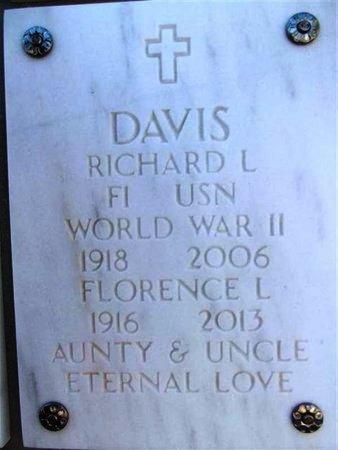 DAVIS, RICHARD L. - Yavapai County, Arizona | RICHARD L. DAVIS - Arizona Gravestone Photos