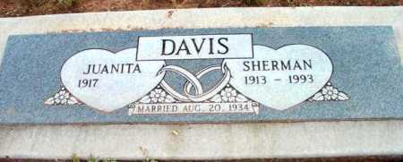 DAVIS, SHERMAN M. - Yavapai County, Arizona | SHERMAN M. DAVIS - Arizona Gravestone Photos
