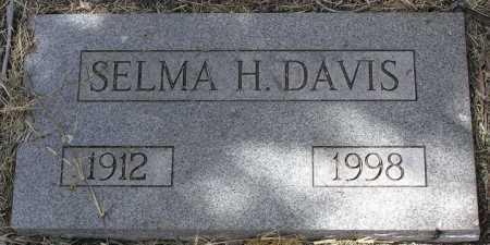DAVIS, SELMA DOROTHEA - Yavapai County, Arizona | SELMA DOROTHEA DAVIS - Arizona Gravestone Photos