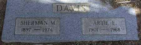 OWINGS DAVIS, ARTIE ERIE - Yavapai County, Arizona | ARTIE ERIE OWINGS DAVIS - Arizona Gravestone Photos
