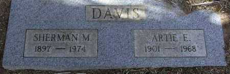 DAVIS, ARTIE ERIE - Yavapai County, Arizona | ARTIE ERIE DAVIS - Arizona Gravestone Photos