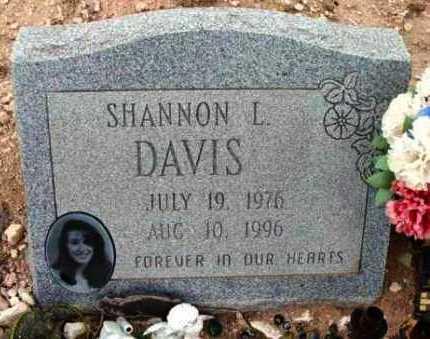 DAVIS, SHANNON L. - Yavapai County, Arizona   SHANNON L. DAVIS - Arizona Gravestone Photos