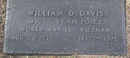 DAVIS, WILLIAM DUANE - Yavapai County, Arizona | WILLIAM DUANE DAVIS - Arizona Gravestone Photos