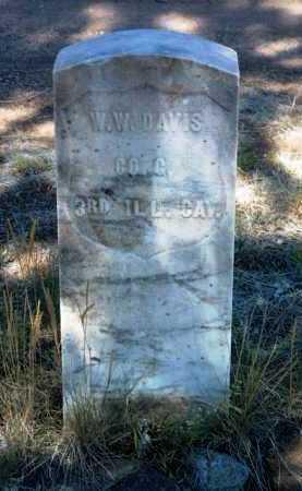 DAVIS, WASHINGTON W. - Yavapai County, Arizona | WASHINGTON W. DAVIS - Arizona Gravestone Photos