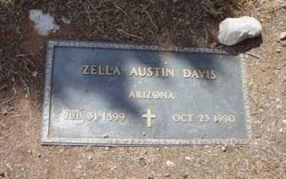 DAVIS, ZELLA - Yavapai County, Arizona | ZELLA DAVIS - Arizona Gravestone Photos