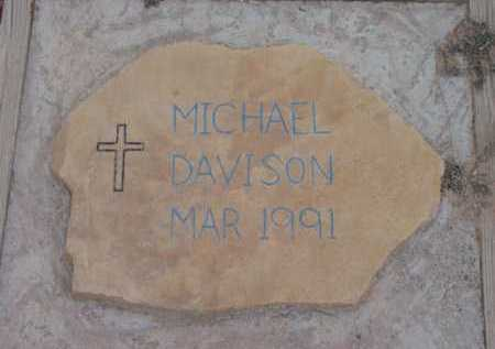 DAVISON, MICHAEL - Yavapai County, Arizona   MICHAEL DAVISON - Arizona Gravestone Photos