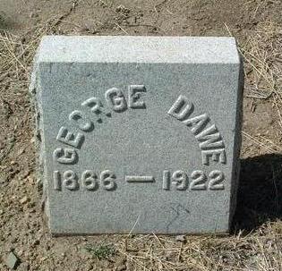 DAWE, GEORGE - Yavapai County, Arizona | GEORGE DAWE - Arizona Gravestone Photos