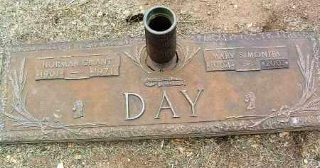 DAY, NORMAN GRANT - Yavapai County, Arizona   NORMAN GRANT DAY - Arizona Gravestone Photos