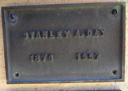 DAY, STANLEY ANDERSON - Yavapai County, Arizona | STANLEY ANDERSON DAY - Arizona Gravestone Photos