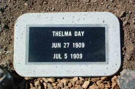 DAY, THELMA E. - Yavapai County, Arizona   THELMA E. DAY - Arizona Gravestone Photos