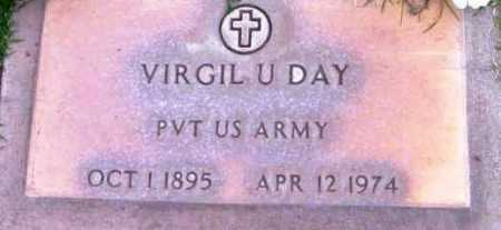 DAY, VIRGIL U. - Yavapai County, Arizona   VIRGIL U. DAY - Arizona Gravestone Photos