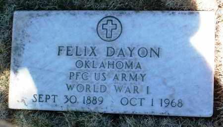 DAYON, FELIX - Yavapai County, Arizona   FELIX DAYON - Arizona Gravestone Photos