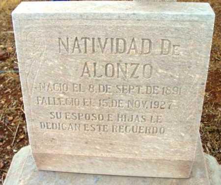 SANTOS ALONZO, NAVIDIDAD DE - Yavapai County, Arizona   NAVIDIDAD DE SANTOS ALONZO - Arizona Gravestone Photos
