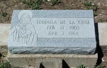 DE LA CRUZ, TEODULA B. - Yavapai County, Arizona | TEODULA B. DE LA CRUZ - Arizona Gravestone Photos