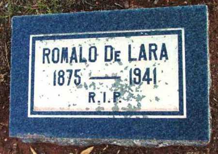 DELARA, ROMALO - Yavapai County, Arizona | ROMALO DELARA - Arizona Gravestone Photos
