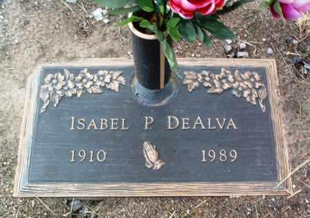 DEALVA, ISABEL P. - Yavapai County, Arizona | ISABEL P. DEALVA - Arizona Gravestone Photos