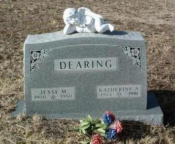 DEARING, JESSE MORGAN - Yavapai County, Arizona | JESSE MORGAN DEARING - Arizona Gravestone Photos