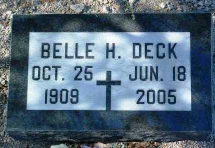 HERSHKOWITZ DECK, BELLE - Yavapai County, Arizona | BELLE HERSHKOWITZ DECK - Arizona Gravestone Photos