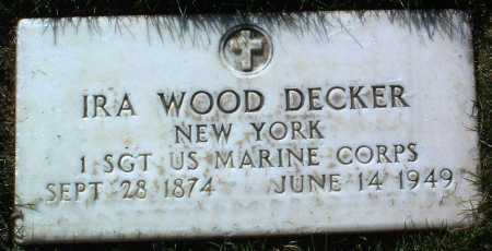 DECKER, IRA WOOD - Yavapai County, Arizona | IRA WOOD DECKER - Arizona Gravestone Photos