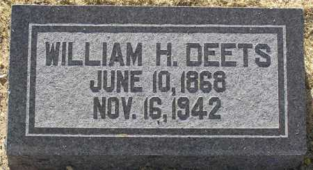 DEETS, WILLIAM H. - Yavapai County, Arizona | WILLIAM H. DEETS - Arizona Gravestone Photos