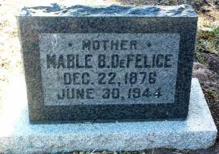 DEFELICE, MABLE B. - Yavapai County, Arizona | MABLE B. DEFELICE - Arizona Gravestone Photos