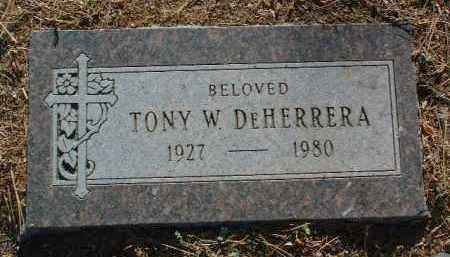 DEHERRERA, ANTONIO WILLIAM - Yavapai County, Arizona | ANTONIO WILLIAM DEHERRERA - Arizona Gravestone Photos