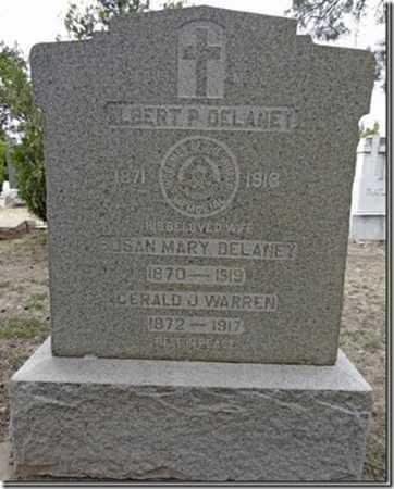 DELANEY, ALBERT P. - Yavapai County, Arizona | ALBERT P. DELANEY - Arizona Gravestone Photos