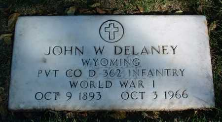 DELANEY, JOHN W. - Yavapai County, Arizona | JOHN W. DELANEY - Arizona Gravestone Photos